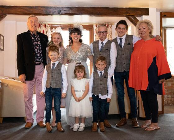 Stuart Roberts and Family
